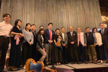 TSUNAMIヴァイオリンコンサート@台湾 大盛況でした。